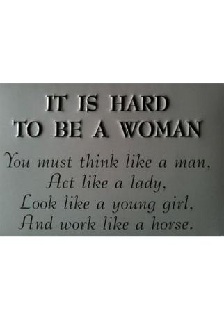 Just Because Women