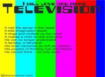 I Will Love You More - Television