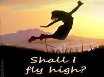 Shall I Fly High