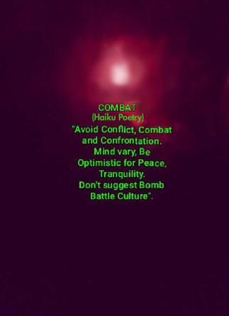 Combat (Haiku Poetry)