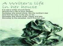 Writers Life In Her House