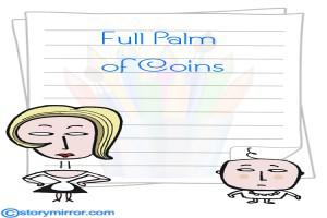 Full Palm Of Coins