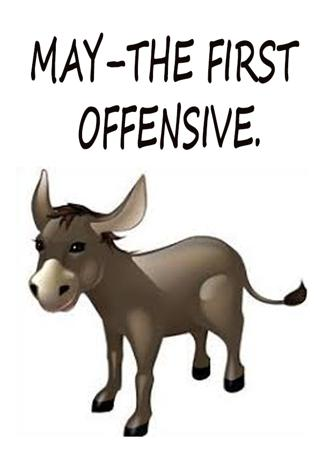 MAY–THE FIRST OFFENSIVE.