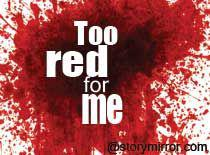 Too Red For Me