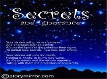 Secrets And Ignorance