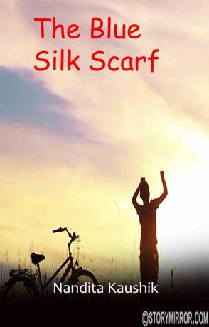 The Blue Silk Scarf