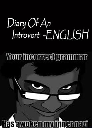Diary Of An Introvert-ENGLISH