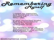 Remembering Myself