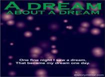 A Dream About A Dream