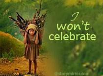 I Won'T Celebrate