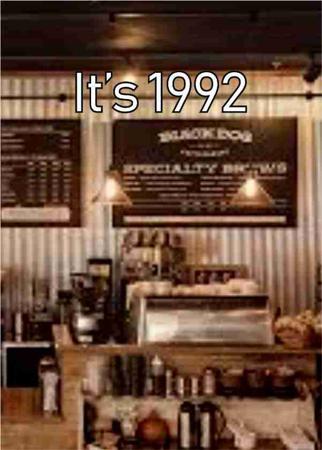 It's 1992