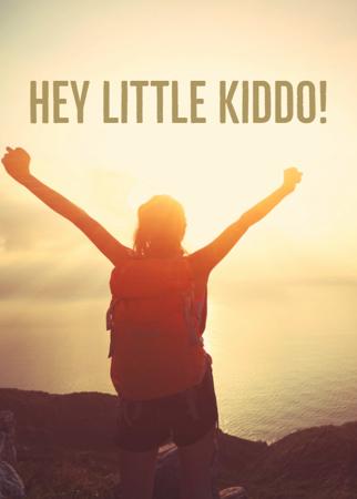 Hey Little Kiddo!
