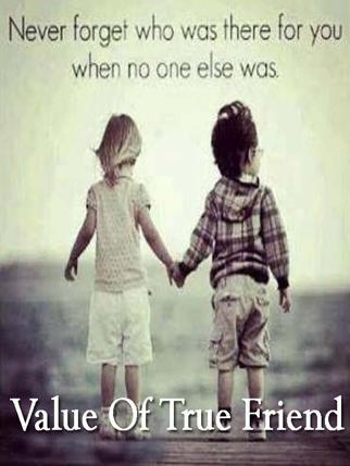 Value Of True Friend