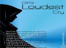 Girl'S Loudest Cry…