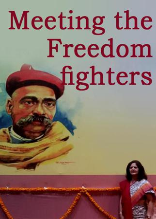 Meeting the Freedom fighters